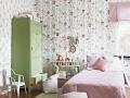 детская комната оформленная шведскими обоями