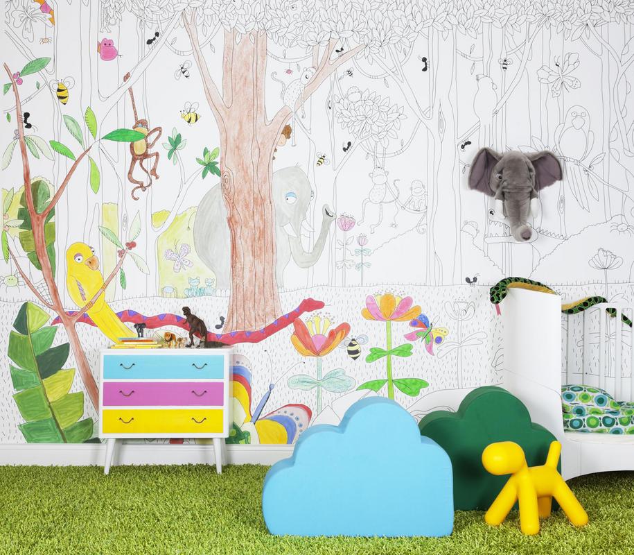 оформление детской комнаты №5